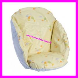 Coussin de chaise imprimé Roudoudou