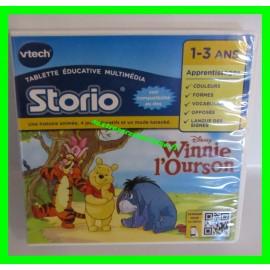 Jeu vidéo Storio - Winnie l'Ourson Disney VTech