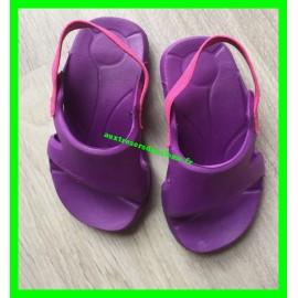 Sandales d'eau violettes Nabaiji P. 26-27