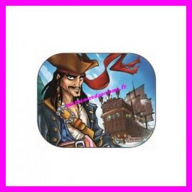 Pare-Soleil x2 44 X 35 cm Pirate des Caraïbes