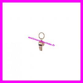 Porte-clés sifflet en métal