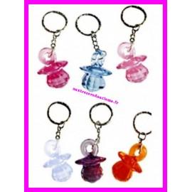 Porte-clés totoche / sucette pour bébé