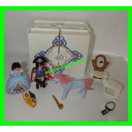 Coffret princesse transportable 5419 Playmobil (vendu seul avec la coiffeuse, sans accessoires ni personnage)
