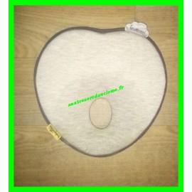 Coussin / Cale-tête ergonomique gris Lovenest original Babymoov