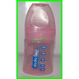 Biberon 150 ml rose Dodie Mam en plastique
