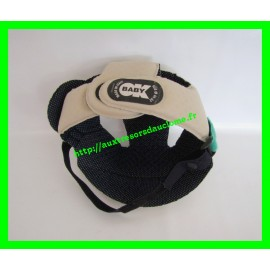 Casquette de protection anti-chocs No Shock grise OK Baby