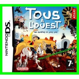 Jeu Nintendo DS Tous à l'ouest : Une aventure de Lucky Luke