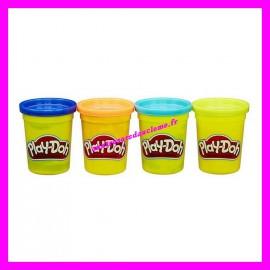 Lot 4 pots de pâte à modeler Play-Doh
