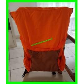 Chaise nomade orange / marron BabyToLove