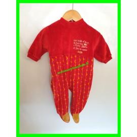 Pyjama 6 mois / Les nuits d'hiver, cherche l'étoile filante et fais un voeux