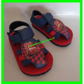 Sandales rouges et bleues Cars P. 21 Disney Pixar