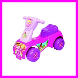 Porteur musical Push'N Scoot Rescue Ride-On Princesses Little People Fisher-Price