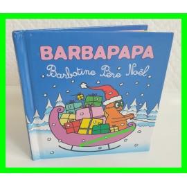 Barbapapa Barbotine Père Noël