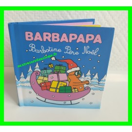 Mini livre Barbapapa / Barbotine Père Noël