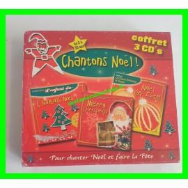 Coffret 3 CD Chantons Noël !