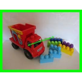 Camion + lot de blocs de briques de construction Mega Bloks