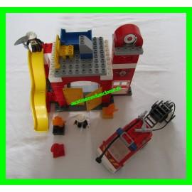 Lego Duplo 6168 La caserne des pompiers Legoville