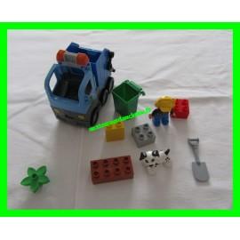 Lego Duplo La station-service Le camion poubelle 10519
