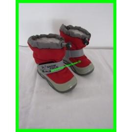 Après-ski / Bottes / Boots de neige P.20-21 rouges et grises Snow Field