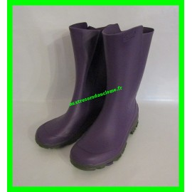 Bottes de pluie / en caoutchouc violettes P. 31-32 Solognac
