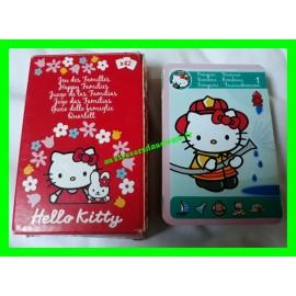 Jeu des 7 familles Hello Kitty Sanrio