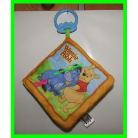 Livre en tissus Winnie l'Ourson / Winnie the Pooh Disney Tomy