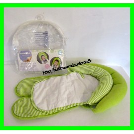 Double cale-tête vert 2 en 1 pour siège auto / coque / cosy Babies'R'us Toys'R'us