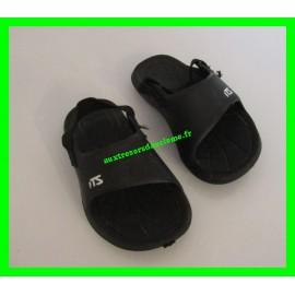 Sandales d'eau noires ITS P. 20-21
