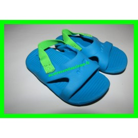 Sandales d'eau bleues Nabaiji P. 19-20 Decathlon