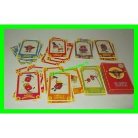 Jeu de cartes Happy 7 familles McDonald's