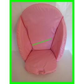 Coussin de chaise haute rose