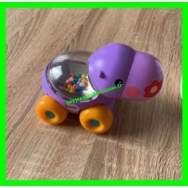 Hippopotame violet roulant à billes Fisher-Price