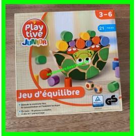 Jeu d'équilibre en bois 21 pièces Playtive Junior