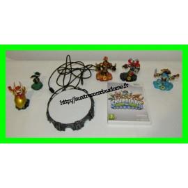 Skylanders Swap Force pack de démarrage Nintendo Wii (+ 2 personnages, manquent 2 cartes)