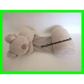 Cale-bébé gris koala Tinéo