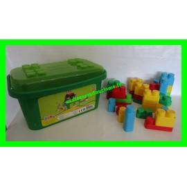 Coffret avec 39 briques de construction Baby Molto Blocks