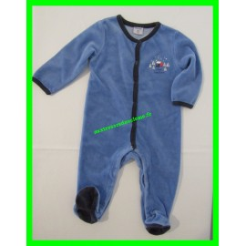 Pyjama 9 mois / 71 bleu Absorba