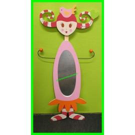 Miroir poupée Jolie comme un coeur Vertbaudet 110 cm