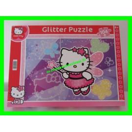 Glitter Puzzle / Puzzle 104 pièces à paillettes fée Hello Kitty Sanrio Clementoni