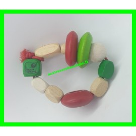 Hochet en bois Selecta Spielzeug