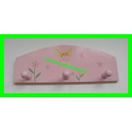 Porte-Manteaux rose Fée