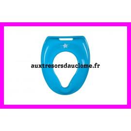 Réducteur de toilette Tom & Zoé bleu