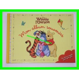 Mon album souvenirs Winnie l'Ourson