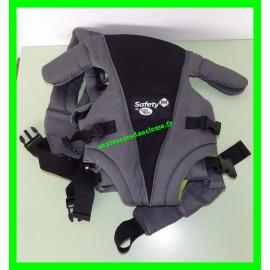 Porte-bébé Uni-T noir / vert Safety first by Baby Relax
