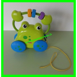 Grenouille Balade à tirer Fisher Price