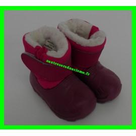 Après-ski / Bottes / Boots de neige roses Oxylane P. 18-19