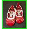 Ballerines rouges Minnie avec élastique P.21