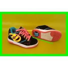 Baskets / Chaussures à roulettes Heelys Propel 2.0 Néon Fluo P. 31