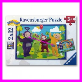 Puzzles 2 x 12 Teletubbies Ravensburger