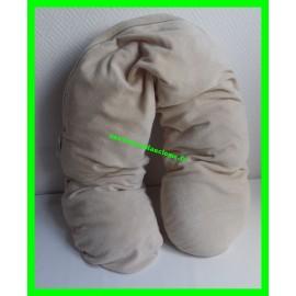 Coussin de maternité / d'allaitement beige Baby Boum
